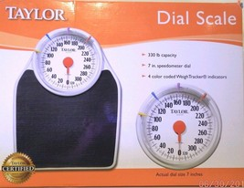 Taylor Dial Bath Scale  Easy-to-Read  7 inch Fa... - $55.99