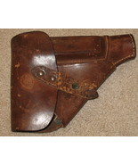 Vintage WWII Leather Pistol Holster - $99.95