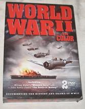 World War II in Color DVD 2-Disc Set - $14.50