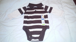 4 GARANIMALS BOY'S Size 0-3 Months Long-Sleeve ONE-PIECES. NEW WITH TAGS! - $30.00