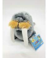 "9"" Ganz Webkinz Gray Walrus HM332 Sealed Code Plush Stuffed Animal Toy B350 - $12.99"