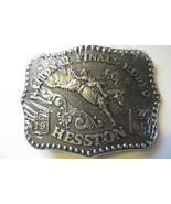old mint 1986 Hesston National Finals Rodeo farm equipement dealer belt ... - $44.55