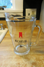 Old Michelob beer,since 1896 rare bar,advertising short heavy glassed pi... - $38.00