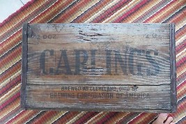 Scarce original Advertising CARLINGS BREWING CORPORATION,BREWED CLEVELAN... - $71.25