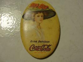 Coca Cola advertising oval mirror, 1972 - $14.81