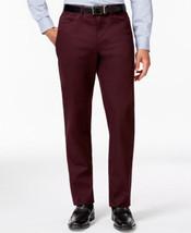 Alfani Rhone Red Slim-Fit Cotton Stretch Flat Front Pants - 30x30 - $21.95