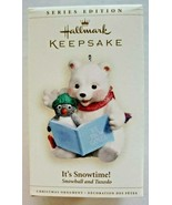 "Series Edition 2006 Hallmark Ornament  ""It's Snowtime!"" Snowball and Tux... - $18.99"