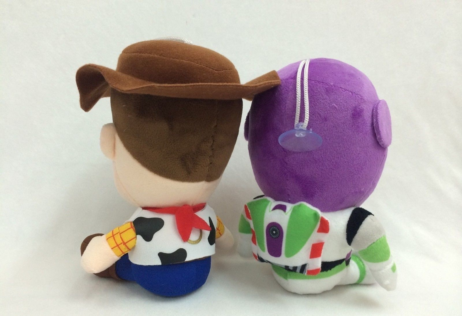 The Toy Story Woody Buzz Lightyear Plush Soft Doll 7''/18cm Tall set of 2