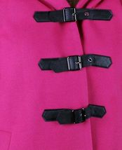 Iron Fist Heads Up Women's Pink PeaCoat NWT image 3