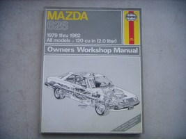 Mazda 626, Haynes Repair Manual, Service Guide 1979-1982. Book - $9.65