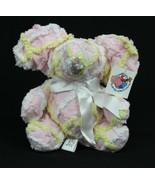 "Chenanimals Chenille Stuffed Animal 100% Cotton 9"" Multi Pastel Seated E... - $13.97"