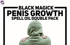 BLACK MAGICK PENIS GROWTH SPELL OIL DOUBLE PACK! FAST & PROVEN RESULTS! ... - $74.99