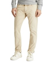 New Mens Khaki POLO Ralph Lauren Hampton Straight Stretch Jeans Anderson... - $65.00