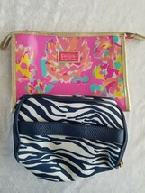 Elegant and Classy Set of 2 Hand Bag/POUCH/PURSE Estee Lauder Lilly Pulitzer - $3.95