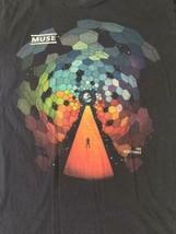 Muse Resistance 2010 Tour Men/Unisex T-shirt Size Small Soft and Comfy image 2