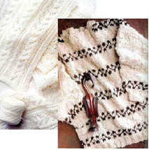 Spin-off magazine winter 1999: bulky sweater; silk cord, distaffs, merino soumak - $16.78