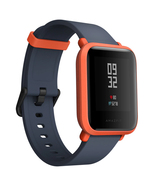 xiaomi huami amazfit bip orange waterproof gps heart rate 1.28inch hd sm... - $108.90