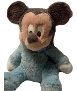 Disney Parks Baby Mickey Mouse Rattle Authentic Original Plush Stuffed T... - $14.13