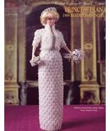 Princess Diana 1989 Beaded Evening Suit for Barbie Paradise Crochet PATT... - $7.17