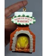 North Pole Bakery Hard plastic chimney oven Christmas Xmas tree Ornament... - $11.88