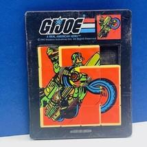 Gi Joe sliding puzzle toy 1983 hasbro action figure Breaker Ram motorcyc... - $39.55