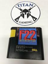 F22 Interceptor (Sega Genesis, 1991) - $6.65