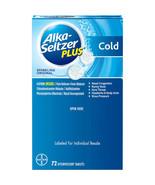 Alka-Seltzer Plus Cold Formula Sparkling Original Effervescent, Tablets ... - $28.71