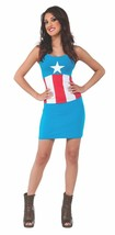 Rubies Marvel Comics American Dream Tank Dress Womens Halloween Costume ... - $32.85