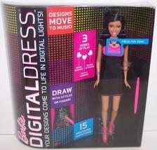 New! 2013 Barbie Digital Dress Fashion Doll : African American {2944} - $36.52