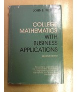 College Mathematics Freund USED Hardcover Book - $1.98