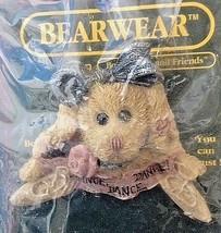 Boyds Bear Margot Bunny Rabbit Ballerina Pin Dance Ballet Bearwear NIP 26114 - $10.95