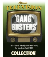 Gang Busters Collection - TV Classics, Movie and Serial - $24.73