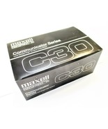 Maxell C30 Cassette Tapes Low Noise High Output New Qty 10 - $15.82