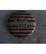 BUY AMERICAN pin, old - $16.15