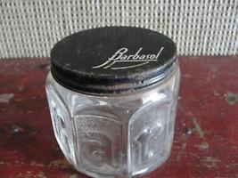 Barbasol glass jar, old, shaving - $30.69