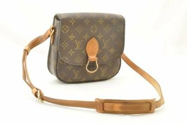 LOUIS VUITTON Monogram Saint Cloud MM Shoulder Bag M51243 Auth 10754 **S... - $480.00