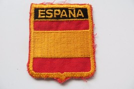 ESPANA, SPANICH UNKNOWN COUNTRY collectible souvenir patch - $14.25