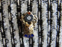 Elks Lodge #35 Meriden Ct.or 35 years B.P.O.E.vtg fraternal organization... - $23.75