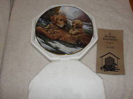 Golden Moments,By Jim Lamb Dog,Plate Collection,#3001 C, - $42.75