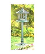 Verdigris  Gazebo Standing Birdfeeder - $33.00