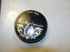 Heather Rouge true red, black and gold advertis... - $12.45
