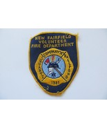 New Fairfield Volunteer Fire Department Company A 1981 used and old vtg ... - $14.85