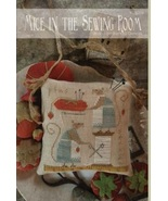 Mice In The Sewing Room cross stitch chart With Thy Needle Brenda Gervais  - $10.80