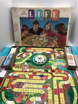 Vintage 1977 Game of Life Board Game Milton Bradley Strategy Simulation - $23.72