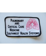 Pulmonary and Critical Care,Medicine Southwest Health Systems patch - $9.90
