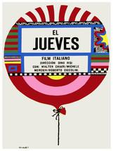 El Jueves, Thursday vintage Movie POSTER.Graphic Design.Wall Art Decorat... - $10.89+
