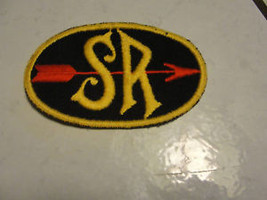 SR WITH ARROW,COMPANY LOGO,OLD VTG SEW-ON RARE PATCH - $24.23