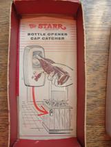 STARR Bottle Opener, Cap Catcher, Coca-Cola, advertising, old, Brown Mfg - $80.70