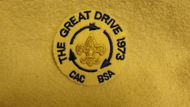 The Great Drive 1973 Bsa Boy Scouts Of America Patch - $14.25