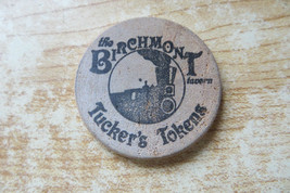 The Birchmont tavern tucker's token Red Jacket Mtn view,N.Conway,NH wooden  - $19.00